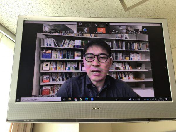 日本大学法学部経営法学科教授臼井哲也先生